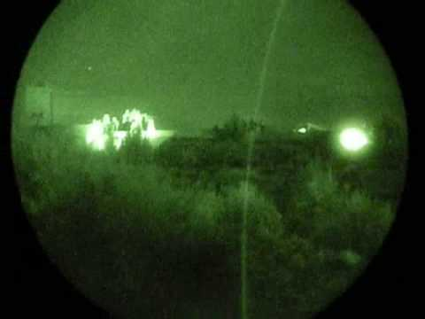 Footage of Team Black ops Elite and company performing night maneuvers in the utah desert, captured with PVS-14s.
