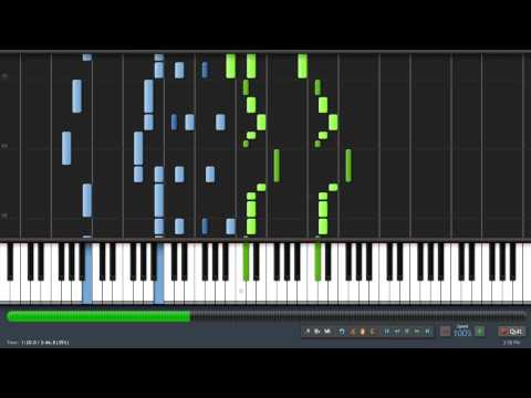 [Synthesia] Skyrim Main Theme (Taioo Piano Transcription)