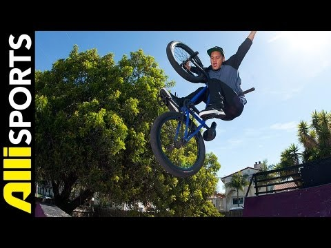 How To Tuck No Hander to Fakie, Chad Kerley, Alli Sports BMX Step By Step Trick Tips