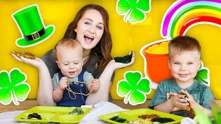 DIY ST. PATRICKS DAY SLIME