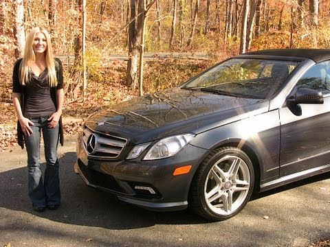 2011 mercedes e550 cabriolet road test and for 2012 mercedes benz e550 coupe review