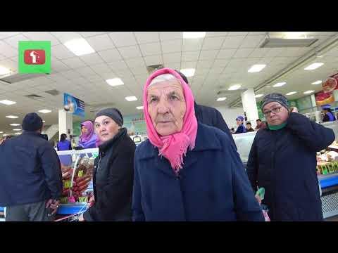 Казах покупает старикам продукты Астана Поддержи своих стариков ! Россия и Казахстан ! Атамекен