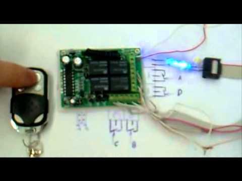 Wireless Remote Control Switch Board Amp Remote Control