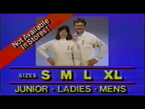 Calgary '88 Sweater Commercial, Jan 5 1987