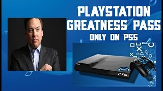 The Playstation Greatness Pass Coming To PS5 In 2020......YES!