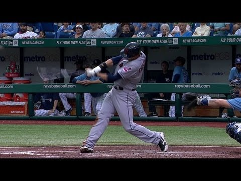 Chisenhall's three-run shot