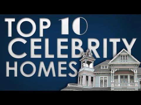 Top Ten Celebrity Homes
