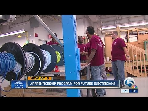 Apprenticeship program for future electricians