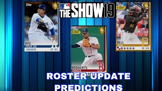 July 19th Roster Update Predictions! MLB the Show 19 Diamond Dynasty
