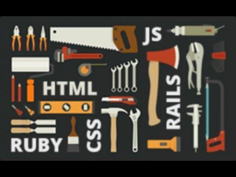 HTML/CSS, JavaScript и Ruby/Rails. Инструменты на все случаи жизни [GeekBrains]