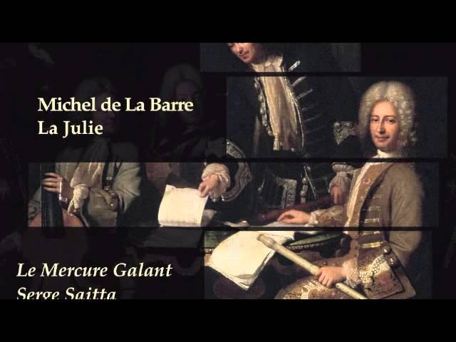 """Michel de La Barre """"qu'un coeur est prévenu.."""" Camille Poul, soprano"""