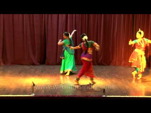 A trio of Odissi Bharatanatyam and Kathak at 4th Indo European...