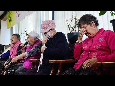 "Japan and South Korea reach landmark ""comfort women"" agreement"