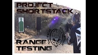 Ultimate Lightwieght AR15 Pistol Range Testing, Shortstack is COMPLETE!