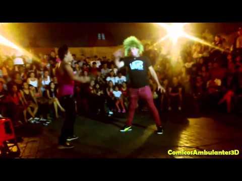 Comicos Ambulantes : Pestañita Y Pinky - Chabuca Granda (parte 3 De 3) video