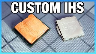 Custom Copper IHS Tested on i7-8700K (Rockit Cool IHS Review)
