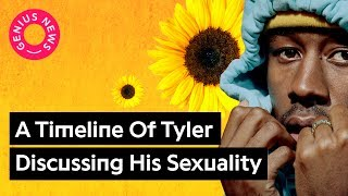 "Tyler, The Creator Used To Be Accused of Homophobia, Now Raps About ""Kissing White Boys"""