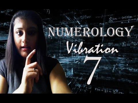 Numerology Number 7, Importance of Number 7, Number 7 in Numerology, Numerology klip izle