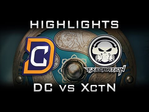 DC vs Execration TI7 Highlights The International 2017 Dota 2