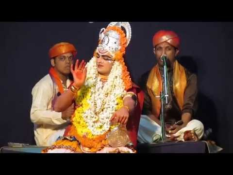 Yakshagana - Shree Devi Mahatme - Patla Sathish Shetty (01) video