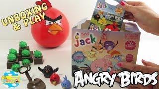 ANGRY BIRDS JUEGOS Y SORPRESAS Jack Huevo de chocolate Felfort - Unboxing and Play