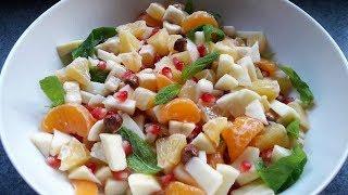 SALATA TARİFLERİ : Meyve Salatası Tarifi - Fruit Salad Recipe -  Bizim Terek