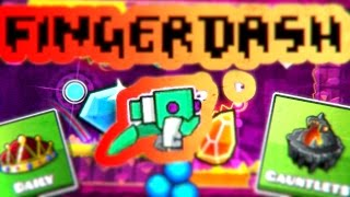 "WERID SPIDER GLITCH!? ""FINGERDASH"" (All Coins) 