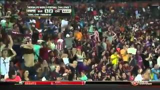 Chivas Guadalajara 4 - 1 Barcelona [World Football Challange] HD
