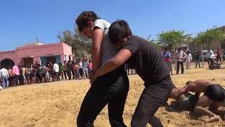 a20 Women Wrestling Sisana Village Dangal by Joga pahalwan