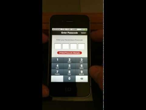 How To Recover Restrictions Passcode Unlock iPhone 4 4s iOS 5.0.1 HIDDEN MAC SECRET