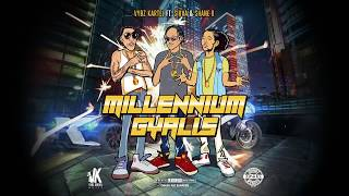 Vybz Kartel Ft. Shawn Storm & Shane O -  Millennium Gallis (Official Audio)