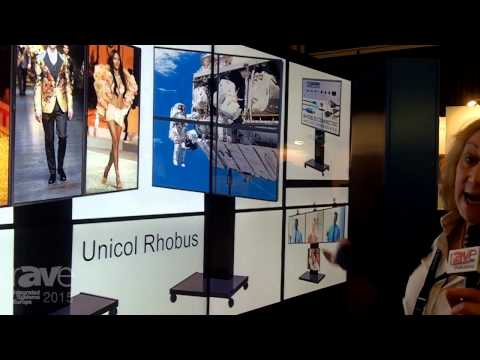 ISE 2015: UNICOL Showcases the Rhobus Trolley