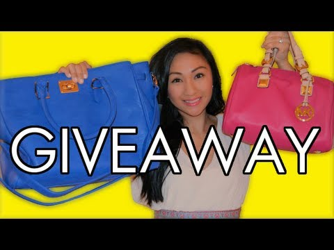 200k GIVEAWAY! MICHAEL KORS BAG & MAKEUP! - AprilAthena7