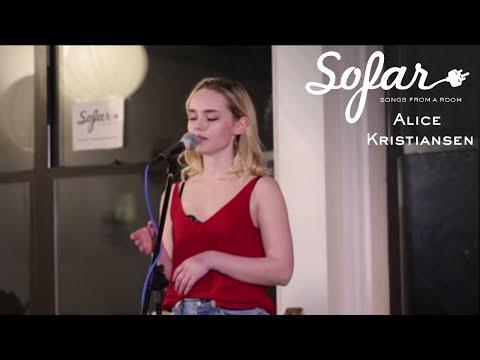 Alice Kristiansen - Lost My Mind  Sofar NYC