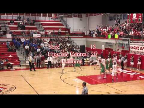 Hinsdale Central Boys' Basketball Highlights vs. York