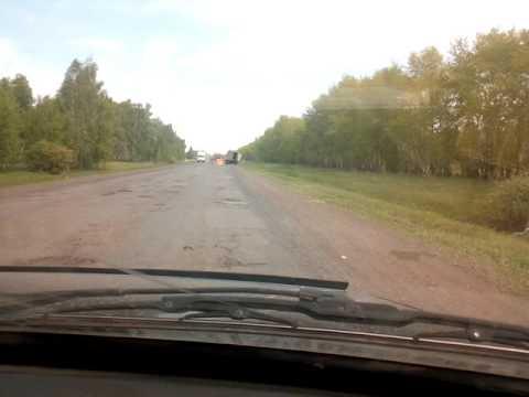 Омская область. Дорога с Любино.