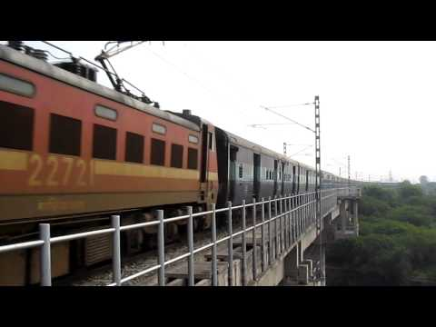Ambala Cantt - Nangal Dam Passenger With Gzb Wap-4 22721 video