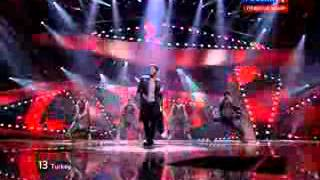 Eurovision 2012 Turkey  Can Bonomo  (Love Me Back)