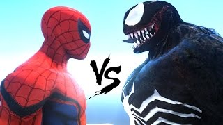 SPIDERMAN VS VENOM - SPIDER-MAN (CIVIL WAR)