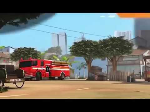 Adit Sopo Jarwo Terbaru 2017.ANTISIPASI BENCANA KEBAKARAN.  Best Cartoon 2016