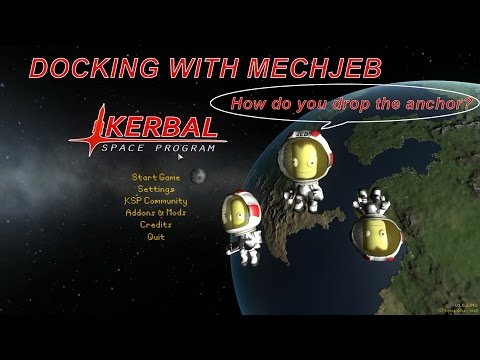 kerbal space program docking-#16