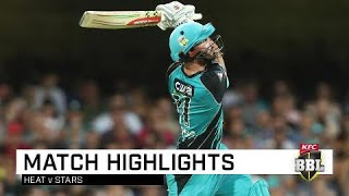 Heat annihilate Stars as sixes rain | KFC BBL|08