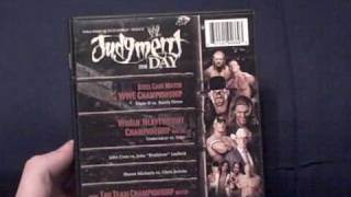 WWE 2008 PPV DVD Reviews