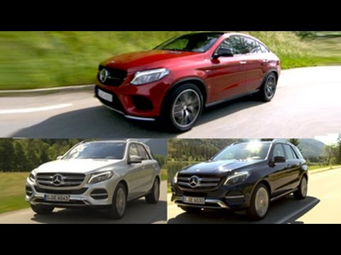 Mercedes-Benz GLE Class SUV & Coupe