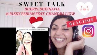 Download Lagu Sheryl Sheinafia & Rizky Febian Feat. Chandra Liow - Sweet Talk-- Reaction Video Gratis STAFABAND