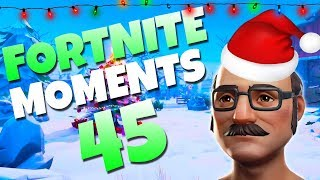 0.00001% CHANCE! PICKAXE DEFLECTED SNIPER BULLET   Fortnite Daily Funny and WTF Moments Ep. 45