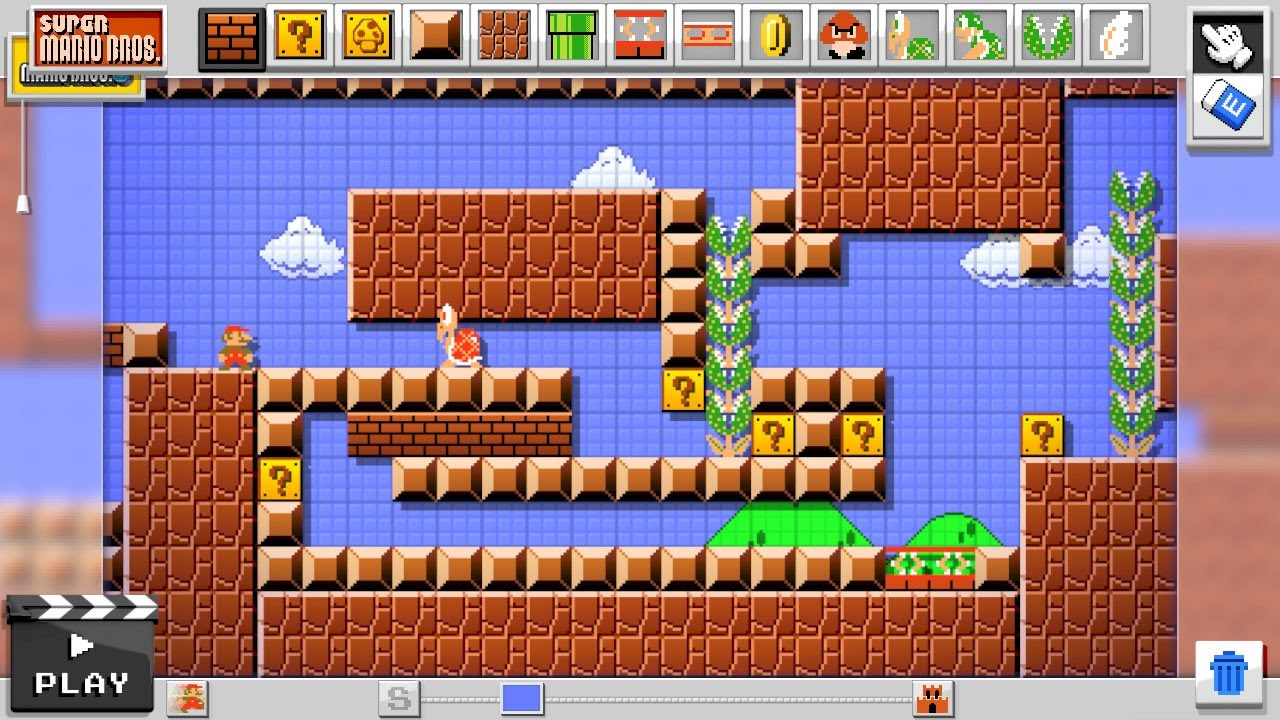 game maker mario level editor