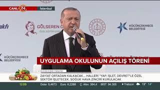 Cumhurbaşkanı Erdoğan: 650 lira engelli aylığı