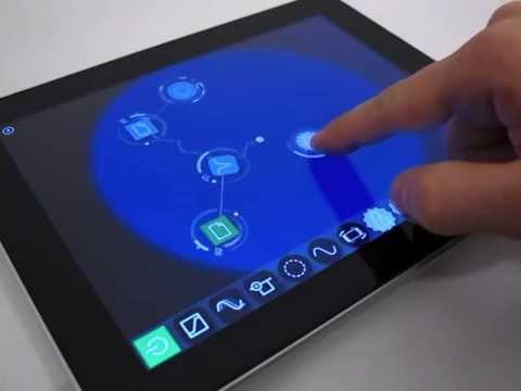 Reactable mobile - Tutorial #1: Interaction