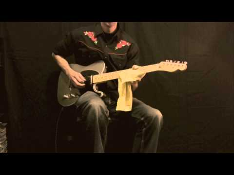 American Deluxe Fender Telecaster -  Jason Hobbs Music Videos